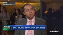 Baltimore's impact on business