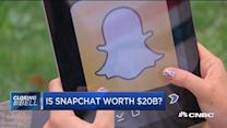 Is Snapchat worth $20B?