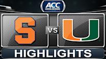 Syracuse vs Miami | 2014 ACC Basketball Highlights