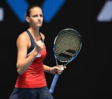Pliskova plays down Australian Open chances despite easy win