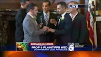 Prop. 8 Plaintiffs Married by L.A. Mayor Antonio Villaraigosa at City Hall