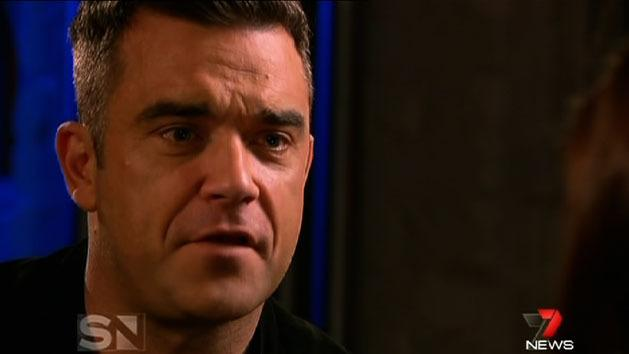 One on one with Robbie Williams