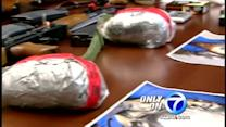 Homeland security drug and gun bust