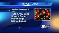 Sunday Things To Do 12-8-13