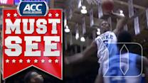 Duke's Rodney Hood Throws Down One-Hand Dunk | ACC Must See Moment