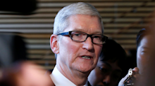 Apple CEO Tim Cook got testy after an analyst asked him if Apple has a 'grand strategy'