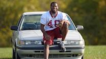 NFL player's loyal ride