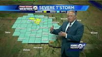 Stormy weather begins push toward Kansas City
