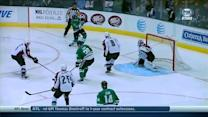 Tyler Seguin one-times it from tough angle