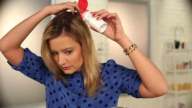 Make Your Own Dry Shampoo!