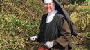 Nun With A Chainsaw Clears Hurricane Irma Debris Like A Pro