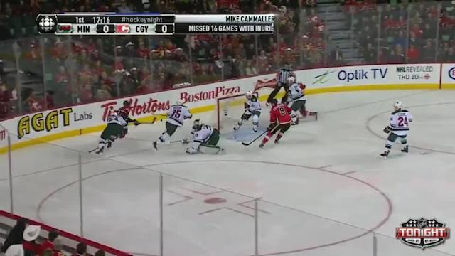 Minnesota Wild at Calgary Flames - 02/01/2014