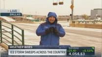 Massive ice storm hits Midwest