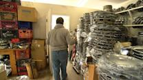 """Hubcap Joe"" treasures dips in the road"