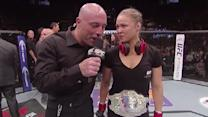 UFC 175: Ronda Rousey Octagon Interview