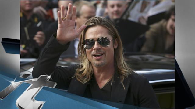 Brad Pitt News Pop: Brad Pitt, Shiloh and Zahara Step Out in Russia After World War Z Premiere