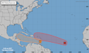Two tropical waves in the Atlantic are headed west, and  might turn into depressions
