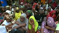 As Mothers weep, Nigeria's president pledges to free kidnapped girls
