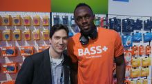 Retired but not tired, Usain Bolt plays Call of Duty, DJs, and walks rrreally slow