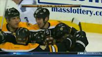Zdeno Chara puts home the rebound