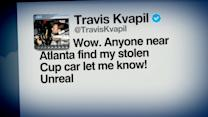 Index: NASCAR Driver Travis Kvapil Withdraws Because Race Car Was Stolen
