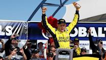 Victory Lane: Kenseth cashes in on 41st Birthday