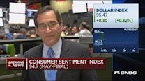 Consumer sentiment index 94.7 (May-Final)