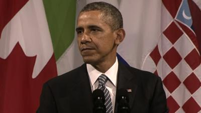 Obama: US-Europe United Behind Ukraine