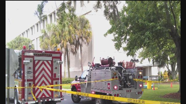 Anthrax scare clears out state building