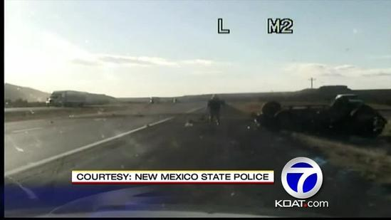 State Police Officer On Rescue