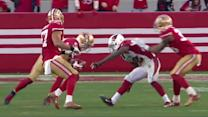 Arizona Cardinals quarterback Ryan Lindley throws third interception