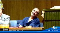 Killer's outburst at sentencing in wife's murder