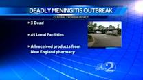 More Fla. facilities linked to meningitis outbreak; 3rd person dies