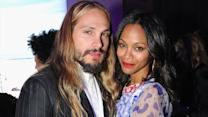 Pregnant Zoe Saldana Gets Maternal with Vin Diesel?s Kids