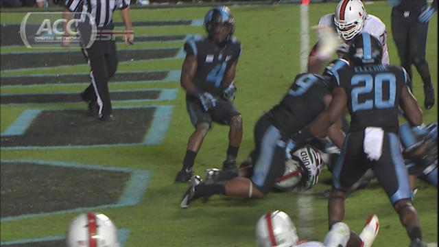 Miami's Dallas Crawford Runs for Game-Winning Touchdown Against UNC | ACC Must See Moment