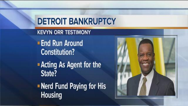Kevyn Orr back on the stand