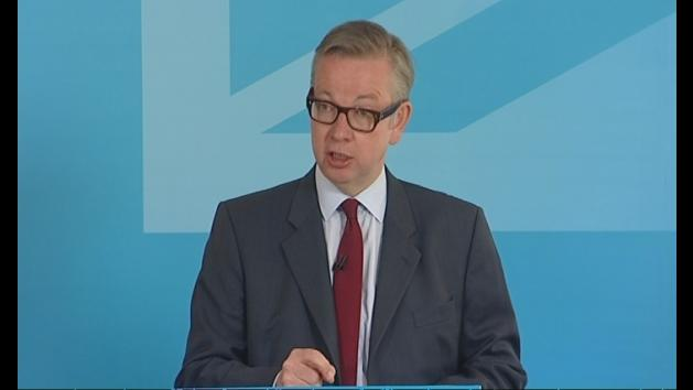 Gove attacks Miliband over union dependence