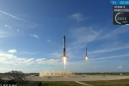 SpaceX just landed two Falcon Heavy rocket boosters back on Earth, but the third didn't make it