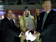Here's what the 'glowing orb' Trump touched in Saudi Arabia actually was
