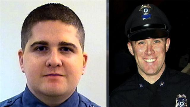 Boston bombing manhunt officer victims were friends