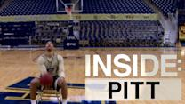 Inside: Pitt | Cameron Wright Hits Backwards Half Court Trick Shot