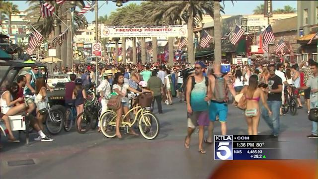 Hermosa Beach Prepares for Influx of Fourth of July Revelers