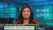 When will rate hikes begin?