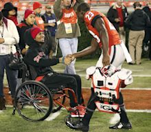 Georgia launches house-building campaign for Devon Gales