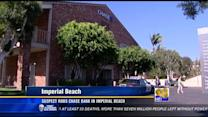 Suspect robs Chase bank in Imperial Beach