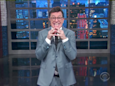 Stephen Colbert gleefully fires back at Trump calling him a 'filthy,' 'no-talent guy': 'I won!'