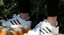 The white sneakers that fueled Adidas' crazy US growth seem to be fading