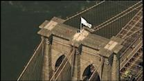 Mystery Atop The Brooklyn Bridge