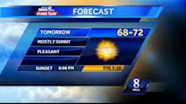 Watch Doug Allen's weekend forecast
