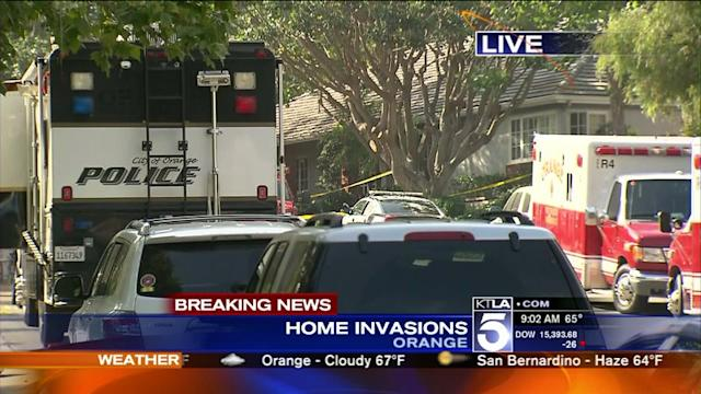Armed Robbers Hit 2 Homes in Orange Neighborhood